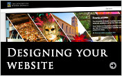 Designing your site